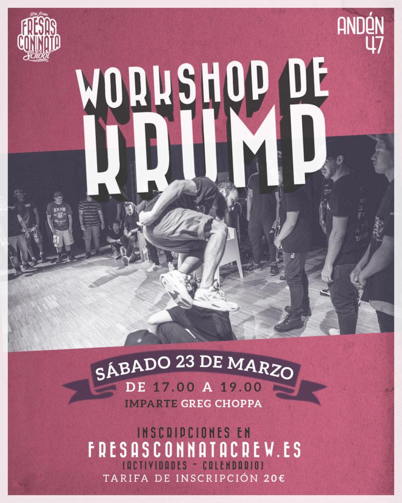 Workshop Krump Chopa